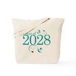 Class Of 2028 cute Tote Bag