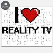I Love Reality Tv Digital Design Puzzle