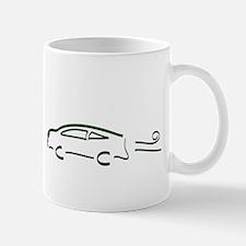 Hybrid Car Kicks Gas Mug
