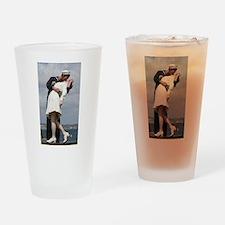 Unconditional Surrender Drinking Glass