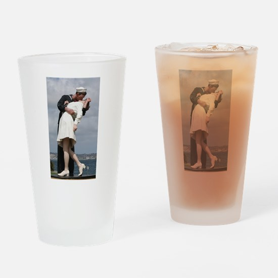 Unconditional Surrender Drinking Glass