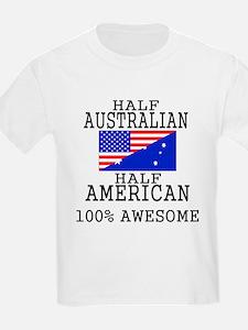 Half Australian Half American T-Shirt