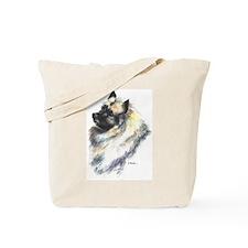 Keeshond #1 Tote Bag