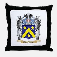 Moynihan Coat of Arms - Family Crest Throw Pillow