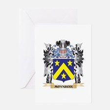 Moynihan Coat of Arms - Family Cres Greeting Cards