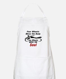 MOTORCYCLE - FOUR WHEELS MOVE THE BODY, 2 WH Apron