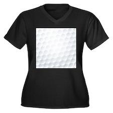 Golf Ball Texture Plus Size T-Shirt