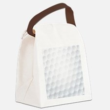 Golf Ball Texture Canvas Lunch Bag