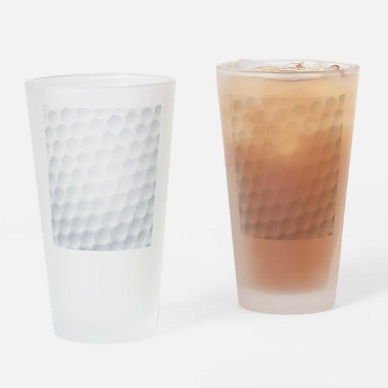 Golf Ball Texture Drinking Glass