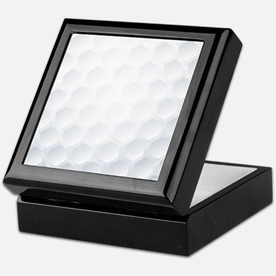 Golf Ball Texture Keepsake Box