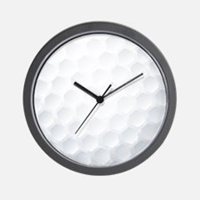Golf Ball Texture Wall Clock
