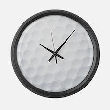 Golf Ball Texture Large Wall Clock