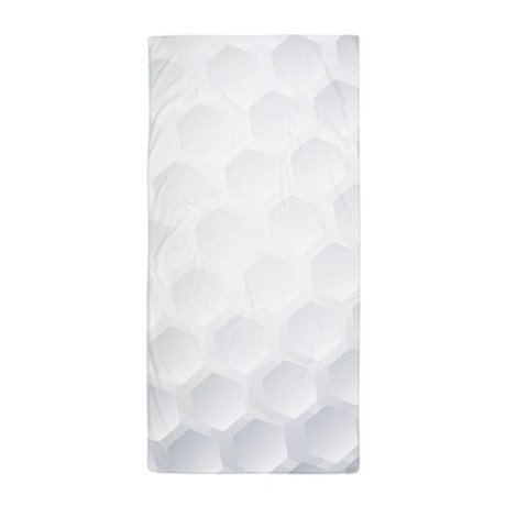 Golf Ball Texture Beach Towel