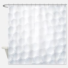 Golf Ball Texture Shower Curtain