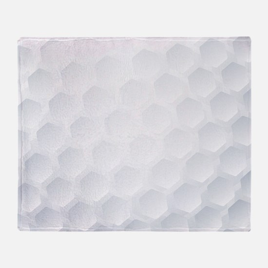 Golf Ball Texture Throw Blanket