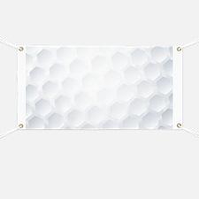 Golf Ball Texture Banner
