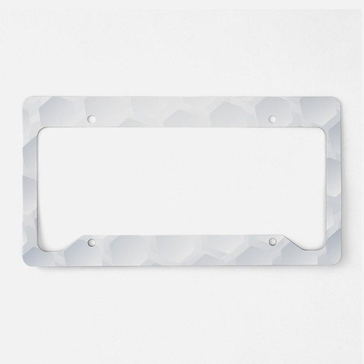 Golf Ball Texture License Plate Holder
