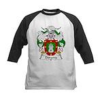 Dorante Family Crest Kids Baseball Jersey