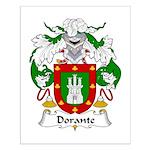 Dorante Family Crest Small Poster