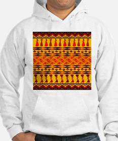 African Traditional Ornament Jumper Hoody