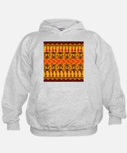 African Traditional Ornament Hoody