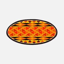 African Traditional Ornament Patch