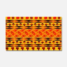 African Traditional Ornament Car Magnet 20 x 12