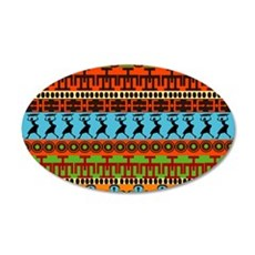African Traditional Ornament Wall Sticker