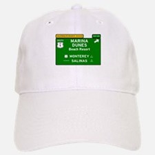 RV RESORTS -CALIFORNIA - MARINA DUNES - BEACH Baseball Baseball Cap