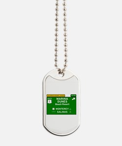 RV RESORTS -CALIFORNIA - MARINA DUNES - B Dog Tags