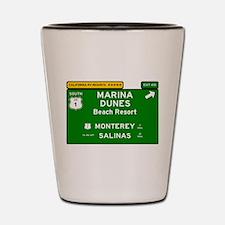 RV RESORTS -CALIFORNIA - MARINA DUNES - Shot Glass