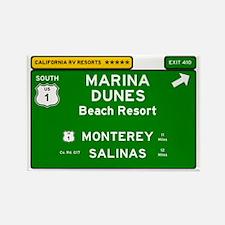 RV RESORTS -CALIFORNIA - MARINA DUNES - BE Magnets