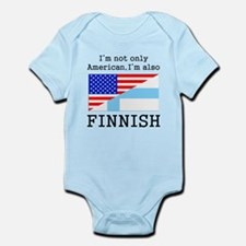 American Also Finnish Body Suit