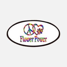 Peace Love Flower Power Patch