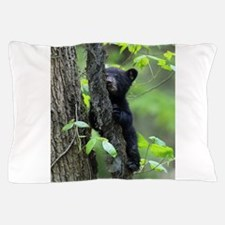 Black Bear Cub Pillow Case