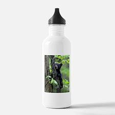 Black Bear Cub Water Bottle
