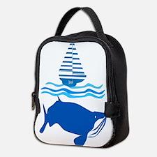 Whale and Jonah Neoprene Lunch Bag
