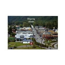 Skagway, Alaska scenic photo Rectangle Magnet