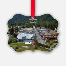 Skagway, Alaska scenic photo Ornament