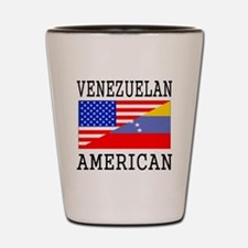 Venezuelan American Flag Shot Glass