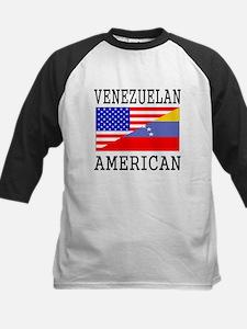 Venezuelan American Flag Baseball Jersey