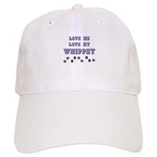 Love Me Love My Whippet Baseball Cap