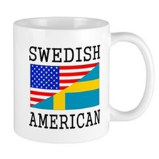 Swedish American Flag Mugs