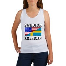 Swedish American Flag Tank Top