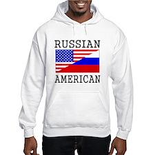 Russian American Flag Hoodie