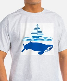 Whale and Jonah T-Shirt