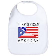 Puerto Rican American Flag Bib