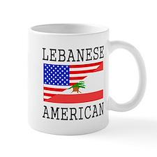 Lebanese American Flag Mugs