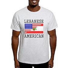 Lebanese American Flag T-Shirt