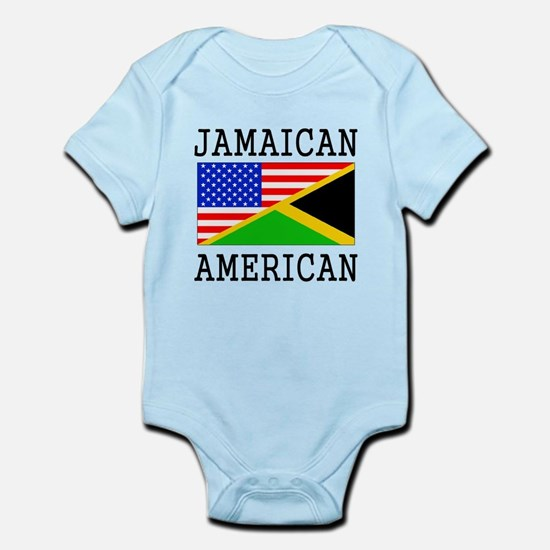 Jamaican American Flag Body Suit